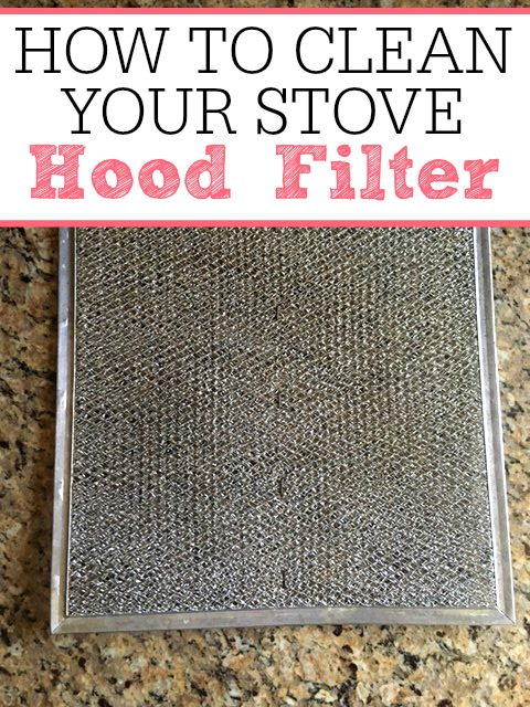 How To Clean Your Stove Hood Filter