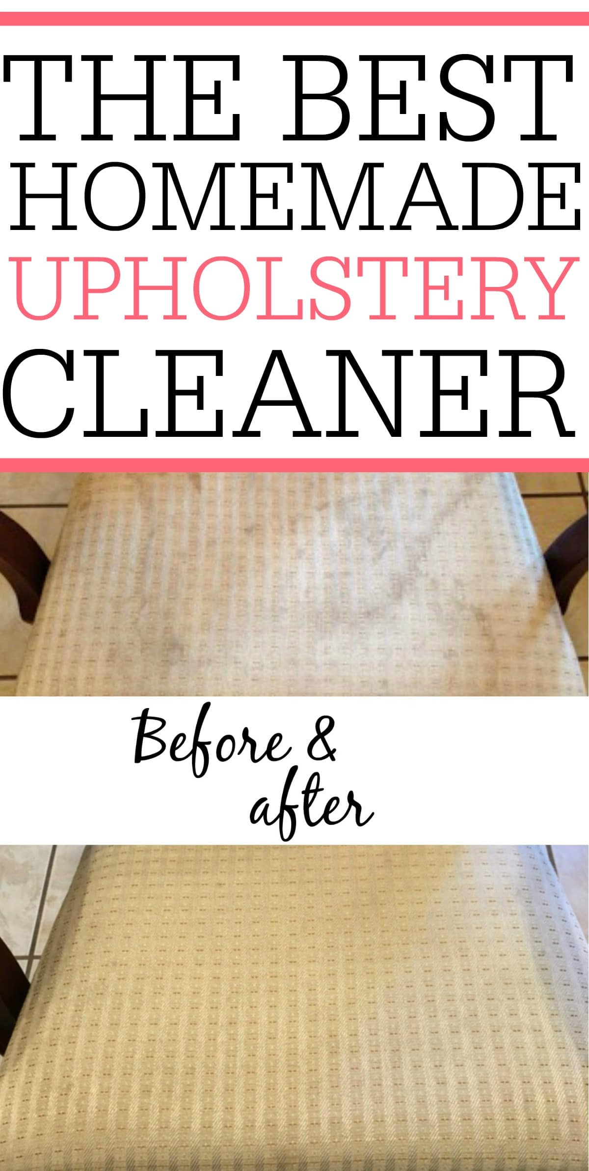 homemade upholstery cleaner with simple ingredients. Black Bedroom Furniture Sets. Home Design Ideas