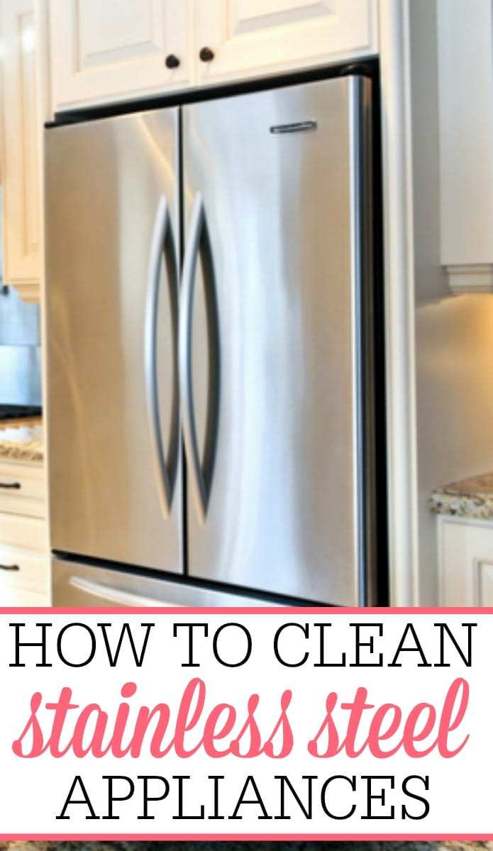 how to clean stainless steel appliances frugally blonde. Black Bedroom Furniture Sets. Home Design Ideas