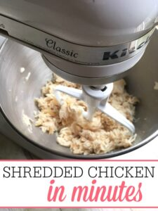 Perfectly Shredded Chicken In Minutes
