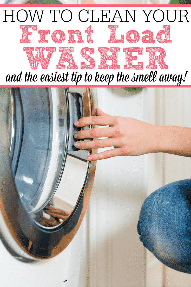 how to clean my front loader washing machine