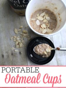 Portable Oatmeal Cups
