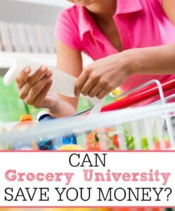 Can Grocery University Save You Money?