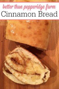 Pepperidge Farm Cinnamon Bread