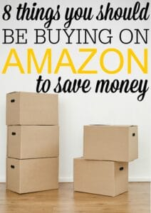 8 Things You Should Be Buying on Amazon To Save