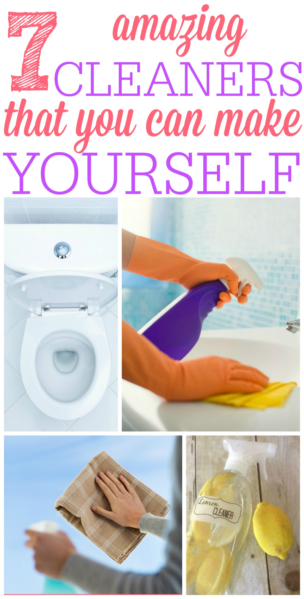7 Cleaners You Can Make Yourself