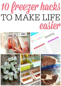Freezer Hacks To Make Life Easier