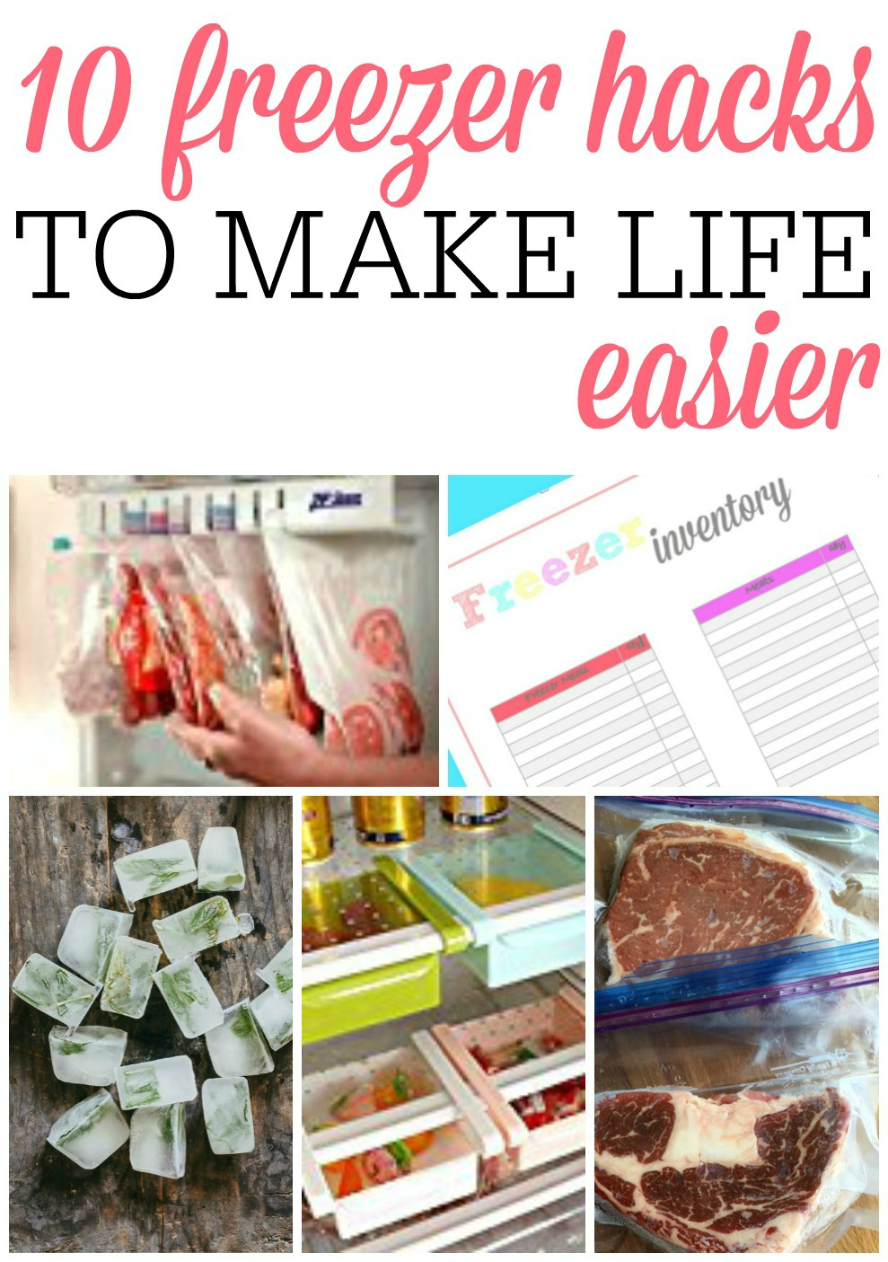 Freezer hacks to make life easier frugally blonde - Five easy cleaning tips get some time for yourself ...