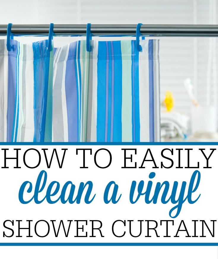Remove Mildew From Vinyl Shower Curtain