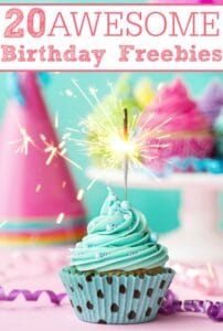 20 Awesome Birthday Freebies