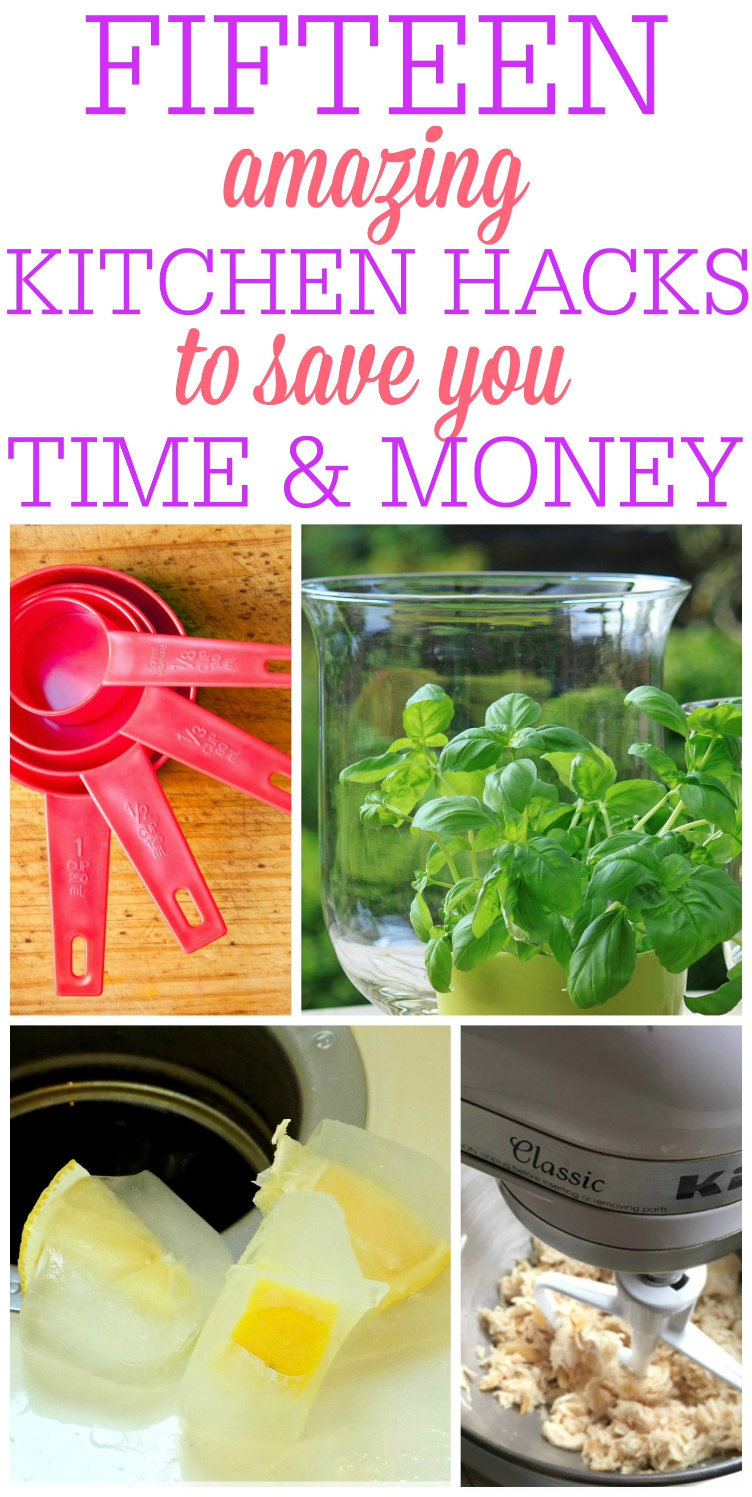 Amazing Kitchen Hacks To Save Time and Money
