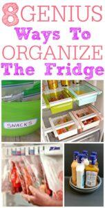 8 Genius Ways To Organize Your Fridge