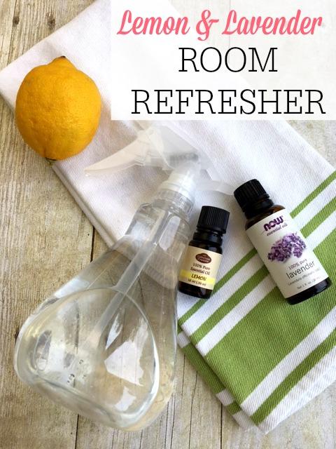 lemon and lavender room refresher