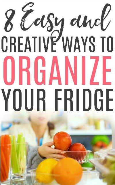 organize your fridge