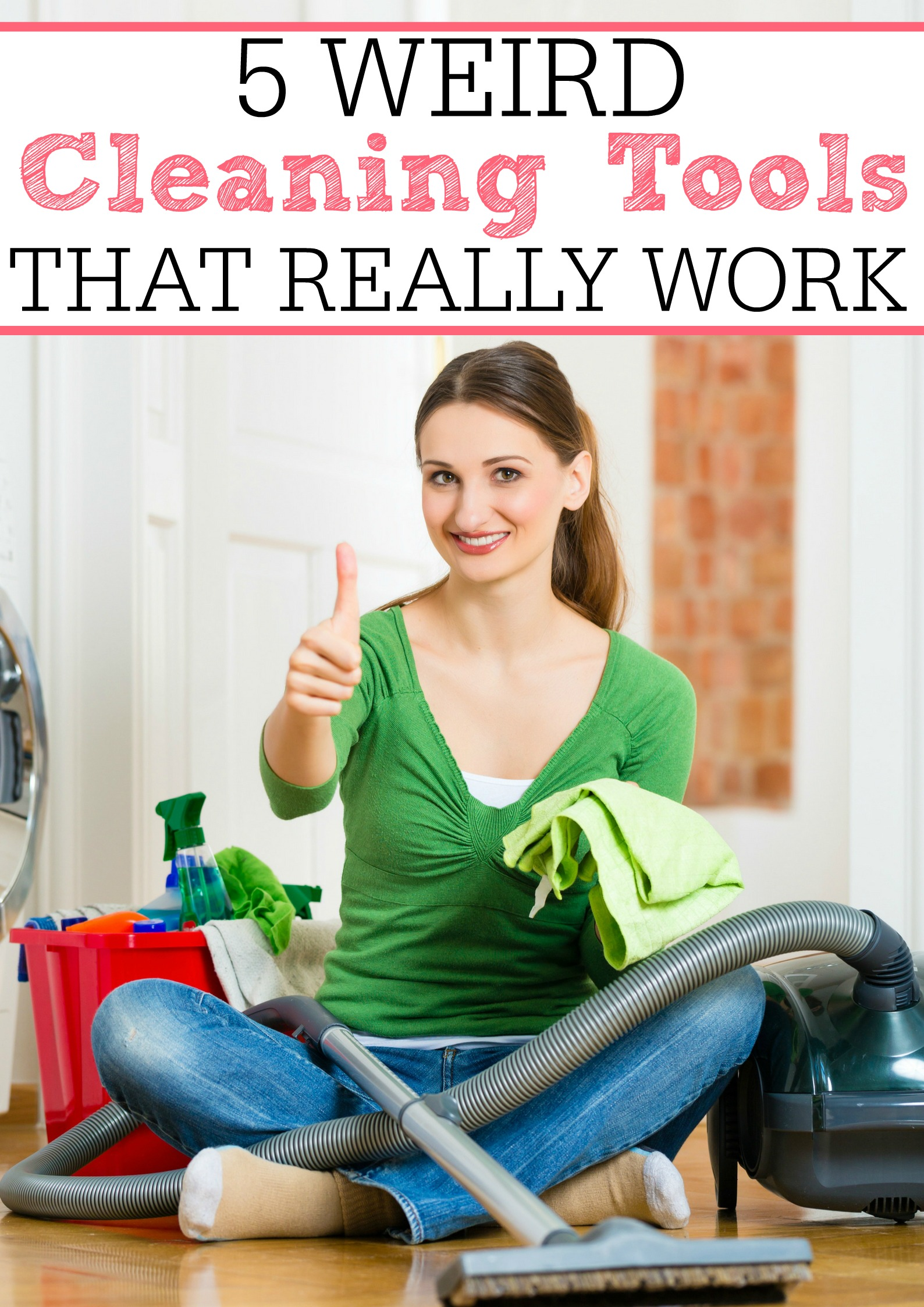 Weird Cleaning Tools That Really Work
