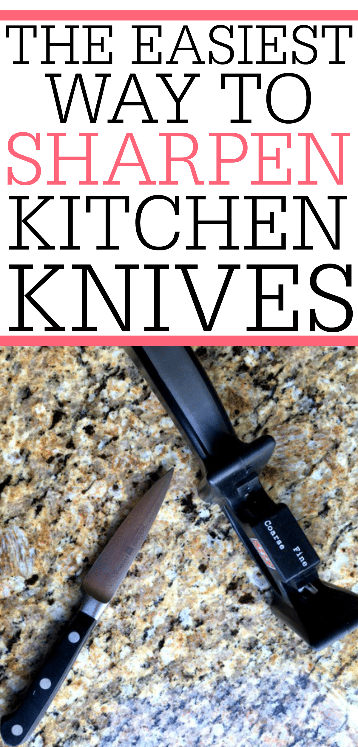 Easy Way To Contour Your Face: The Easiest Way To Sharpen Kitchen Knives