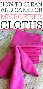 How To Clean and Care For Microfiber Cloths