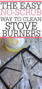 The Easy No-Scrub Way To Clean Stove Burners