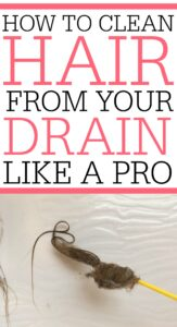 How To Get Hair Out Of Drain Like A Pro