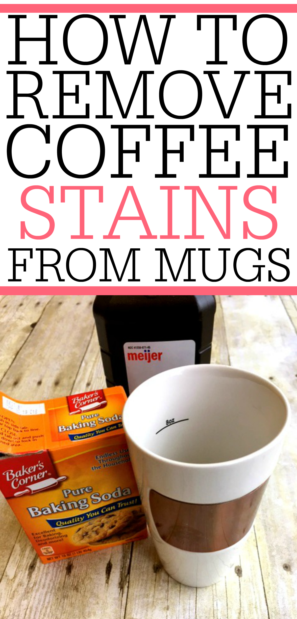 how to remove coffee stains from mugs