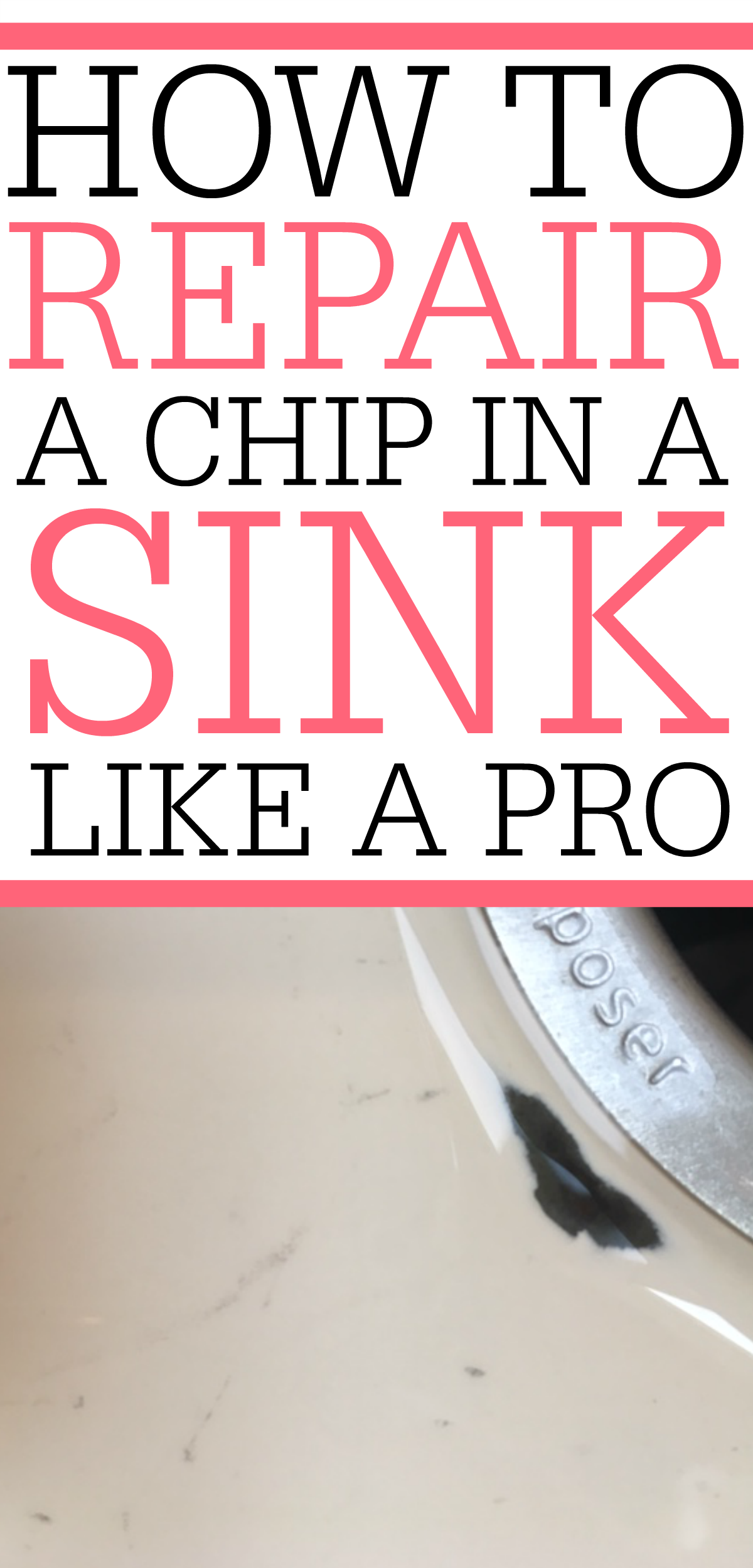 Do You Have A Chipped Sink That Needs To Be Repaired? Check Out How To