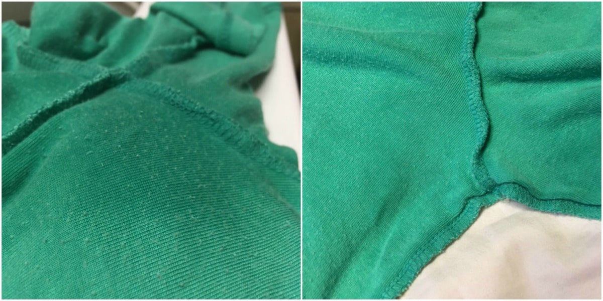 How to remove deodorant build up from dark clothes for Deodorant stains on black shirt