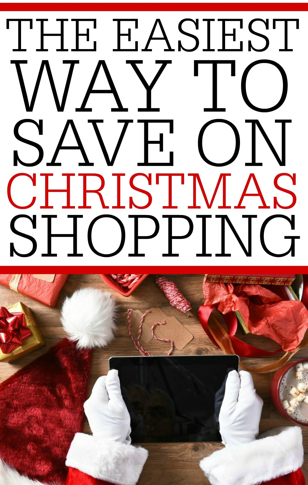 Get some easy cash back just for doing your Christmas shopping. It's the easiest way to save on Christmas shopping!