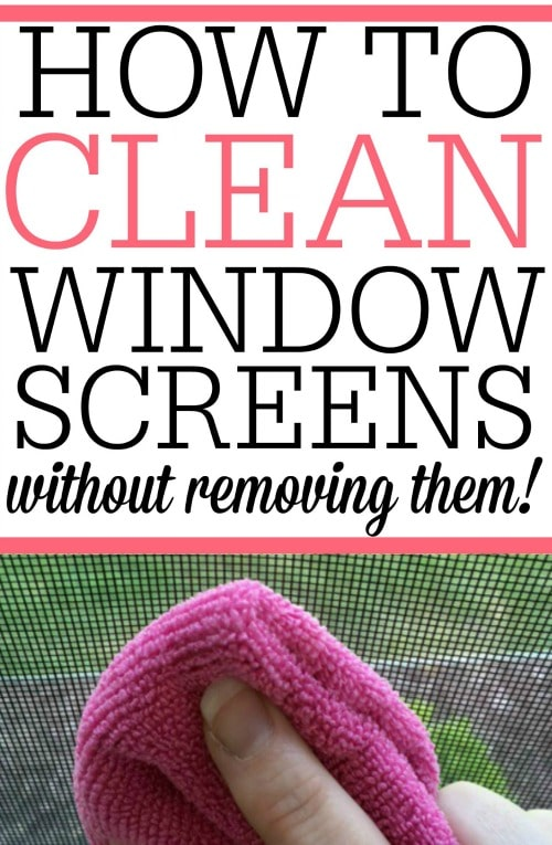 best way to clean window screens save how to clean your window screens frugally blonde