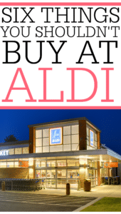 Things You Shouldn't Buy At Aldi