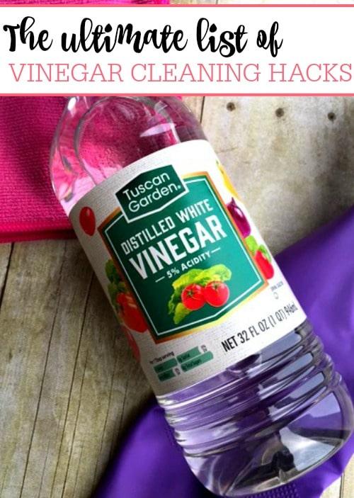 The Ultimate List of Vinegar Cleaning Hacks