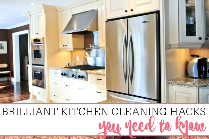 Brilliant Kitchen Cleaning Hacks You Need To Know