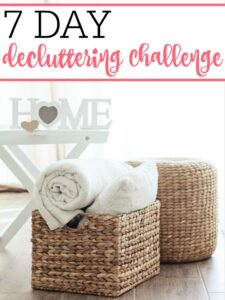 7 Day Decluttering Challenge
