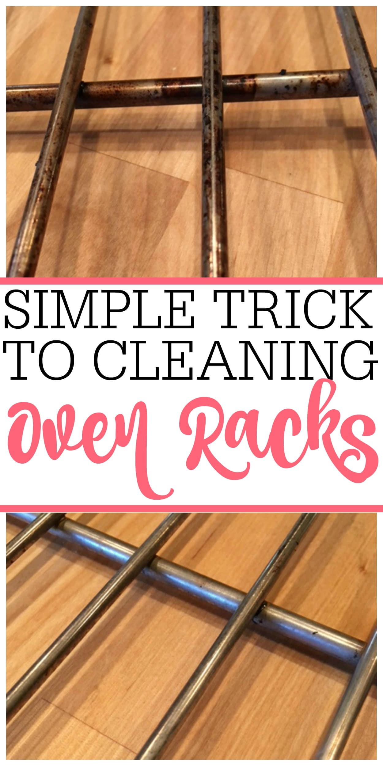 Tired Of Dirty Oven Racks Check Out This Easy No Scrub Trick For Cleaning