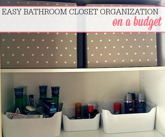 Closet Organization On A Budget