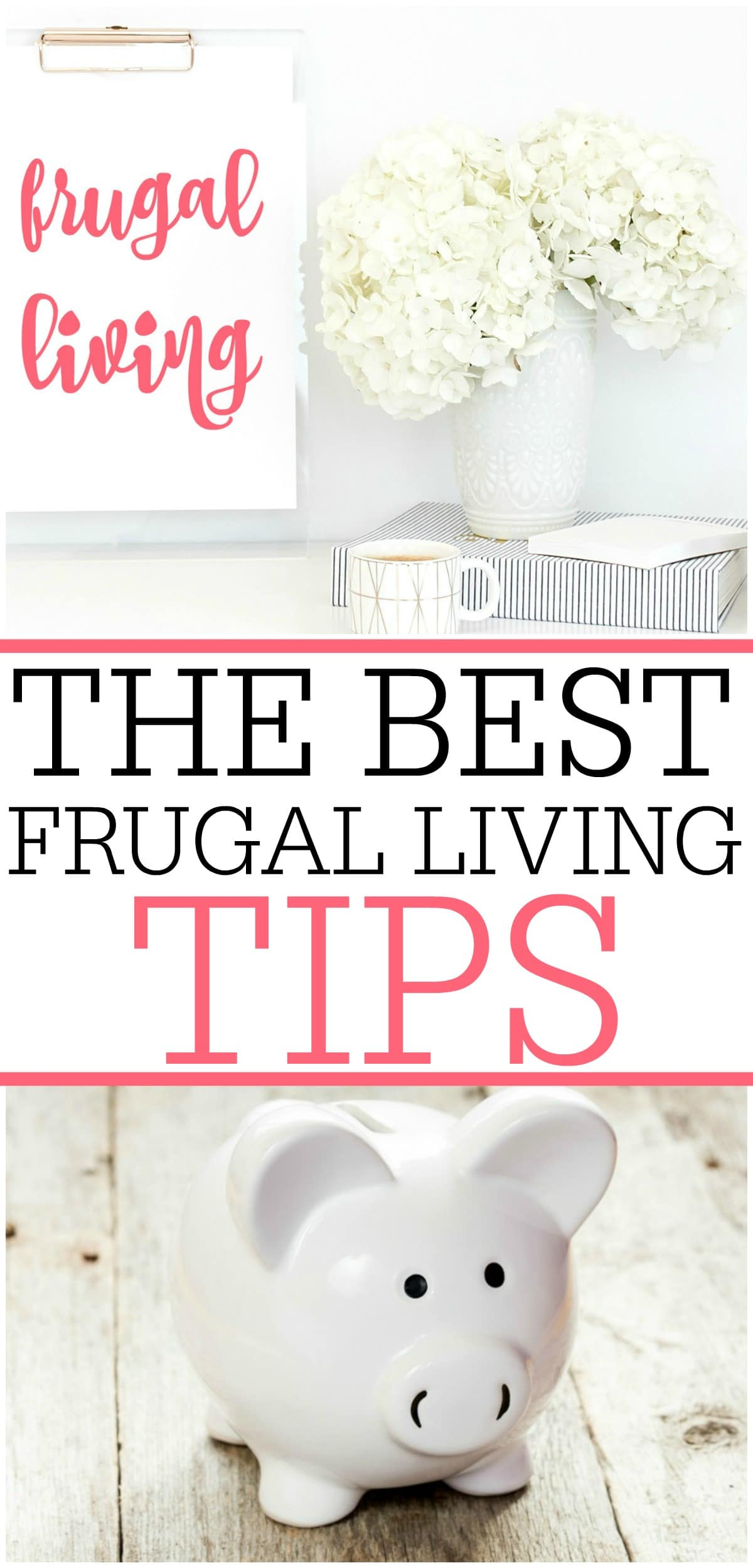 Trying to save money? You can save more money with these awesome frugal living tips. Check out the best frugal living tips to really make the most of your money. #frugalliving #savemoney