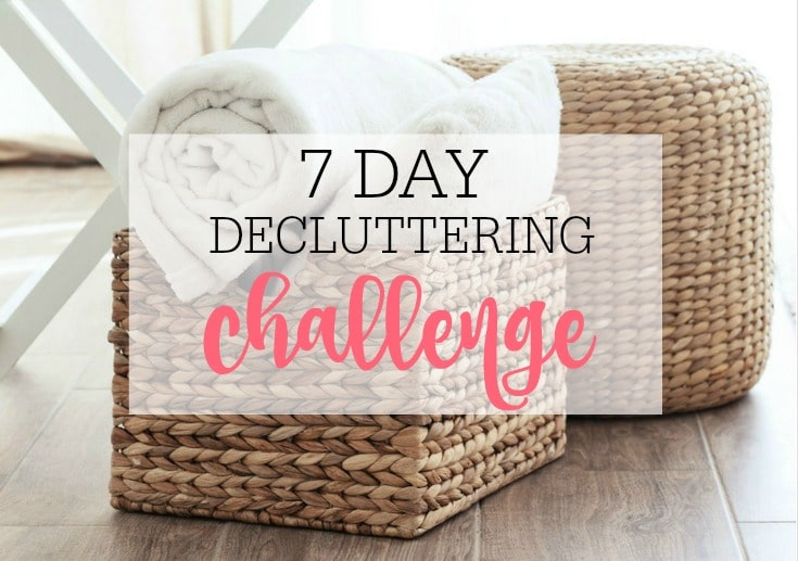 donations after a decluttering challenge