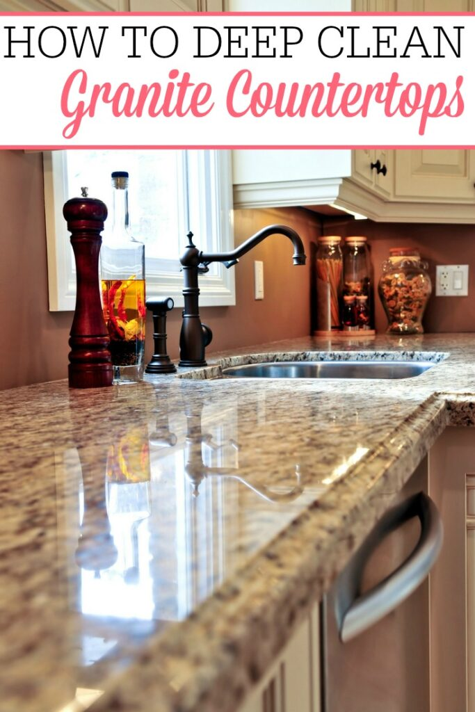 How To Deep Clean Granite Countertops Frugally Blonde