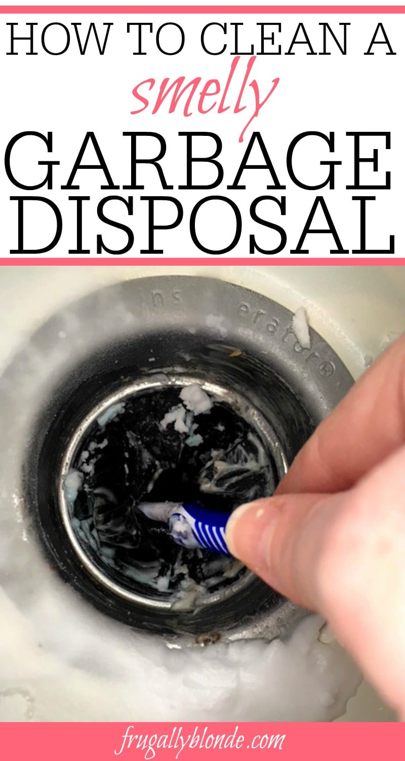 Dealing with a smelly garbage disposal? Check out these simple tips for getting rid of smells in your garbage disposal. Learn how to clean a smelly garbage disposal in minutes.