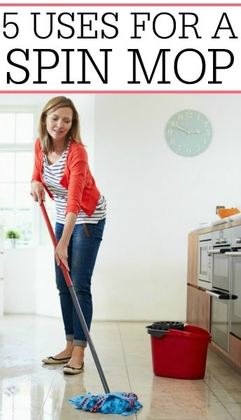 uses for a spin mop