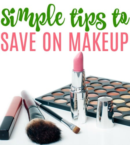 simple tips to save on makeup