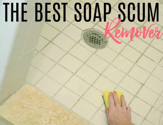 best soap scum remover