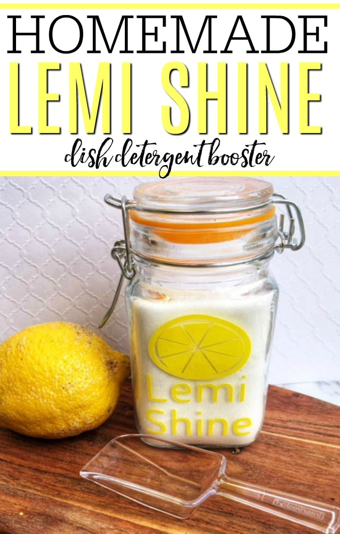 Dealing with dull, filmy dishes? Check out how to make this homemade lemi shine. This powerful dish detergent booster gets your glasses crystal clear. Say goodbye to hard water stains with this simple tip.