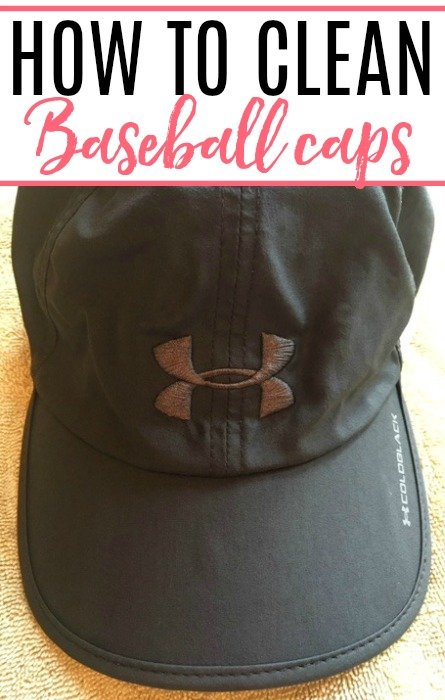 how to clean baseball caps