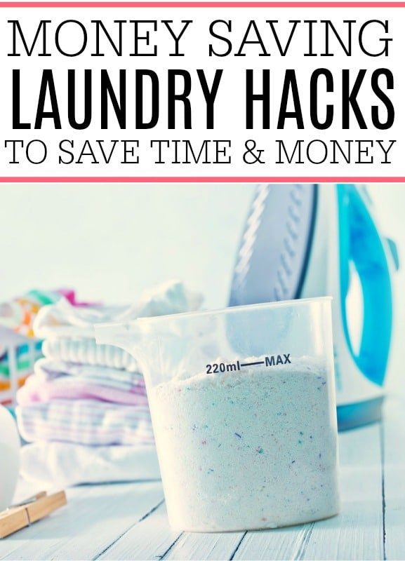money saving laundry hacks