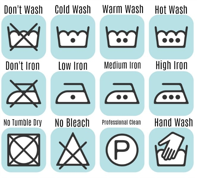 Washing Machine Symbols Guide Frugally Blonde