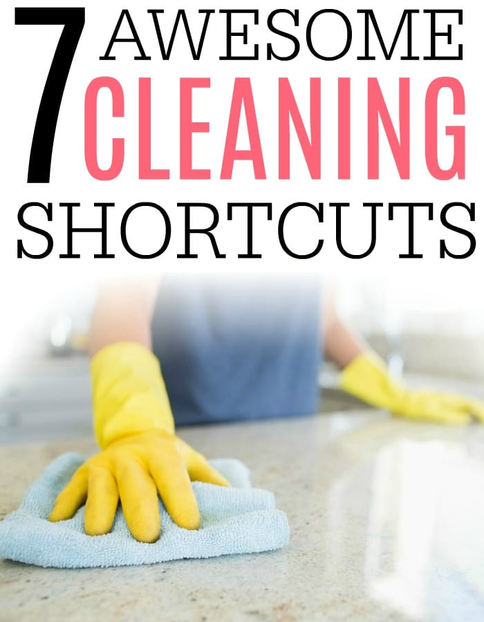 Looking for some easy ways to clean your house? Check out these seven awesome cleaning shortcuts. They help you clean the house fast.