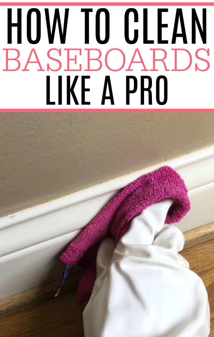 Tired of dealing with dirty baseboards? Learn how to clean baseboards like a pro. This easy way to clean baseboards will have them clean and looking like new.