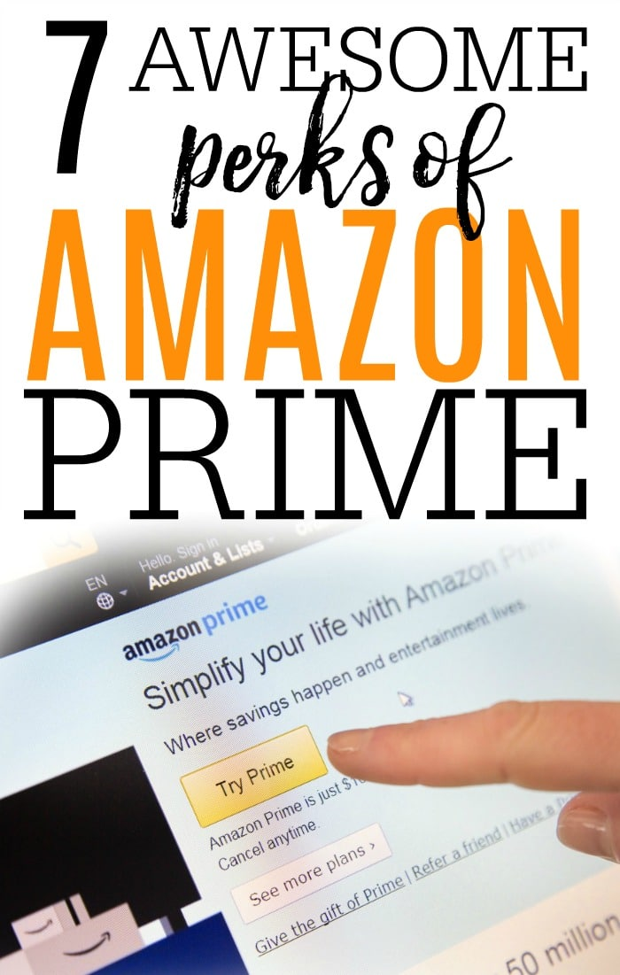 Not sure if Amazon Prime is right for you? Check out these 7 awesome perks of Amazon Prime. Books & movies are just a few of the Amazon Prime membership perks.