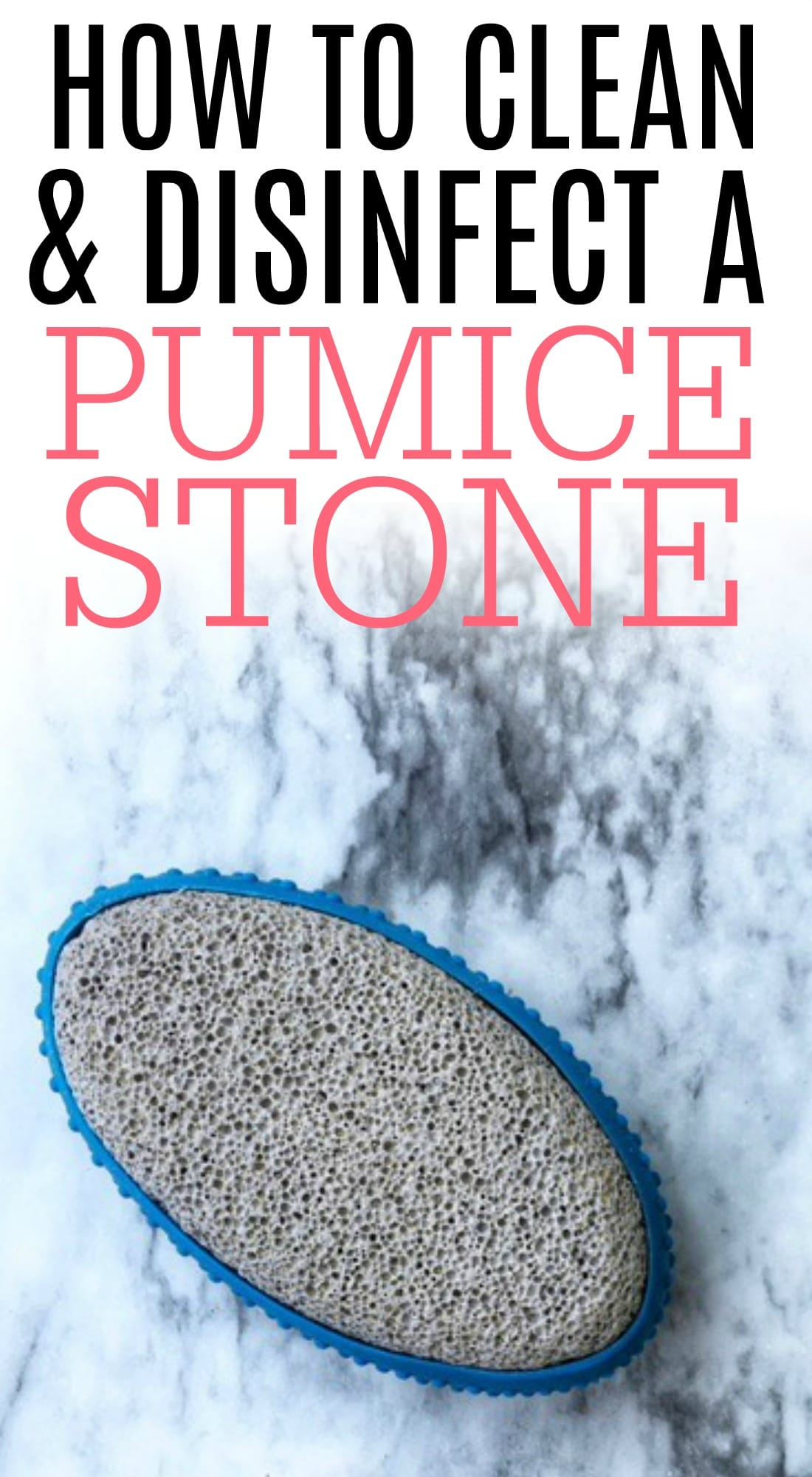 Keep your pumice stone free from germs and bacteria with these simple tips. See how to clean a pumice stone quickly and easily.