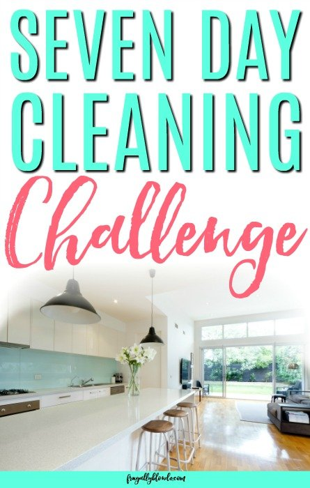 cleaning challenge